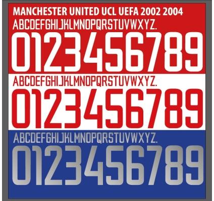 Manchester U 2002-04
