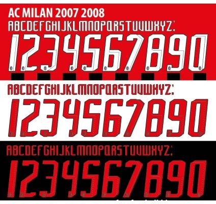 Ac Milan  2007-08