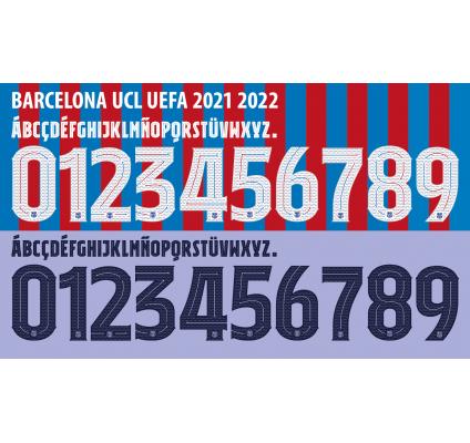 Barcelona Ucl 2021-22