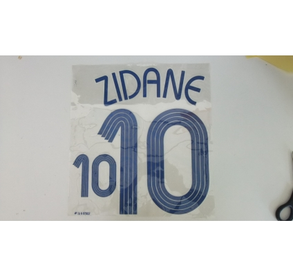 Zidane 10  French away
