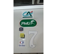 Flock- Coupe de France- PMU- White Numbers