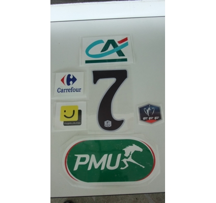 Flock- Coupe de France- PMU- Black Numbers