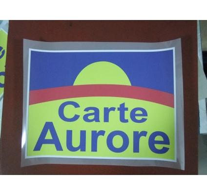 Carte aurore 28 cm kdimageslogo - Carte aurore partenaire ...