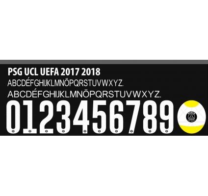 Psg Champions League 2017-18