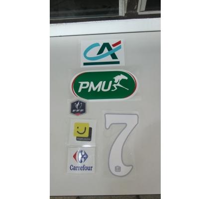 Flock- Coupe de France- PMU- White Numbers